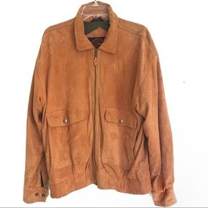 Tan Leather Jacket - Baracuta Original